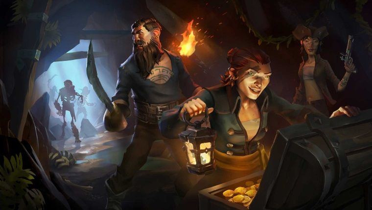 Sea of Thieves'den kapalı beta fragmanı geldi