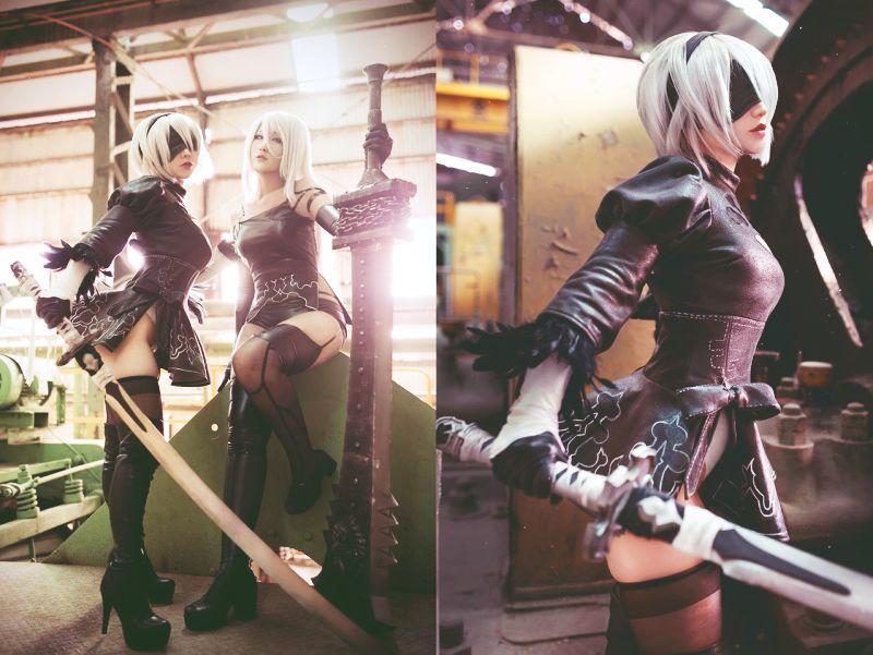 Nier: Automata için yapılan bu cosplay çalışmaları harika