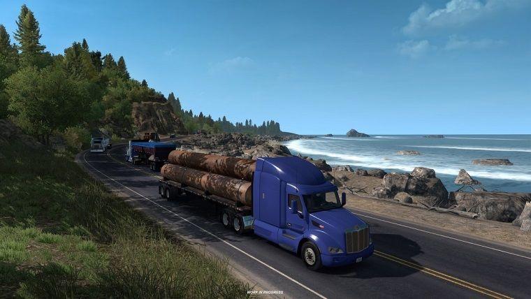 American Truck Simulator'un yeni haritası videolar ile tanıtıldı