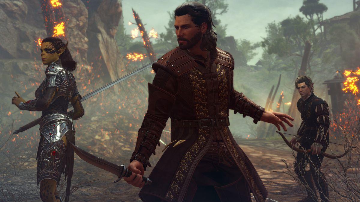 Baldur's Gate 3'ten yeni bilgiler ve video geldi