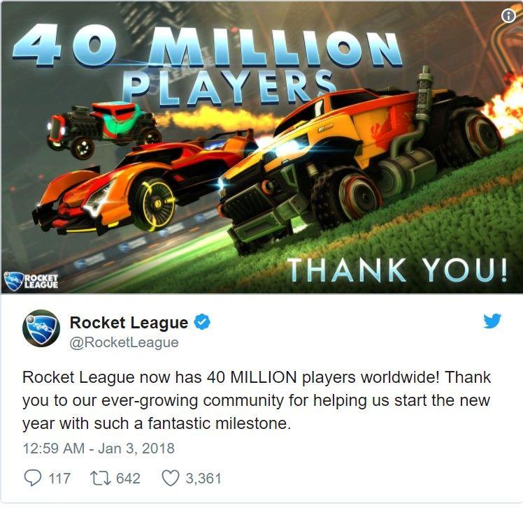 Rocket League'den yeni rekor geldi!