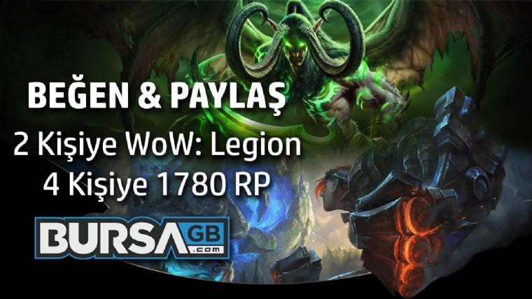 2 kişiye WoW: Legion hediye ediyoruz