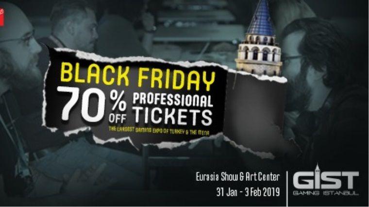 GIST'in Profesyonel Bilet'inde Black Friday indirimi başladı