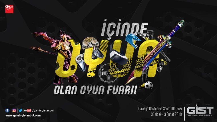 Dijital eğlencenin önemli markaları Gaming İstanbul'da olacak