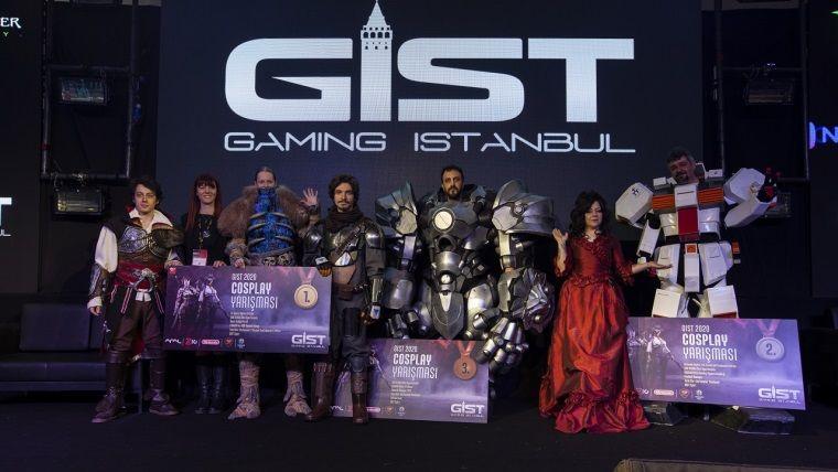 Dört gün süren  Gaming İstanbul maratonu tamamlandı