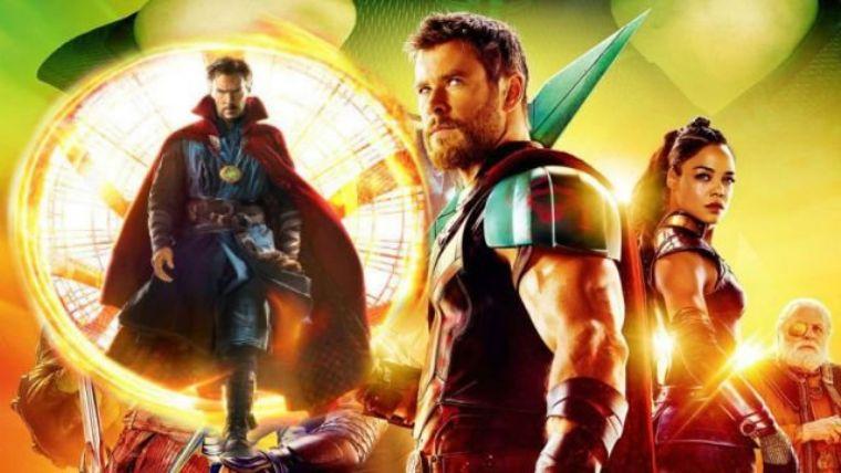 Dr. Strange yeni Thor Ragnarok fragmanında boy gösteriyor