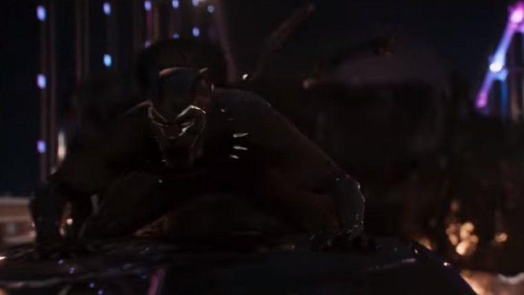 Black Panther'ın arabalı kovalama sahnesi yayınlandı