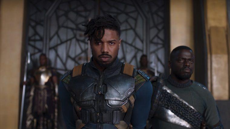 Killmonger'ı Black Panther'e filmde meydan okurken izleyin
