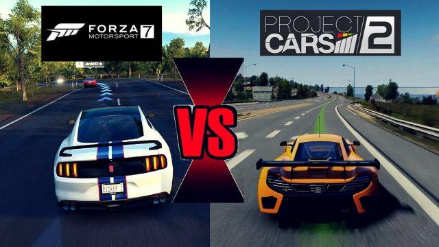 GT Sport vs Forza 7 vs Project CARS 2 karşılaştırması