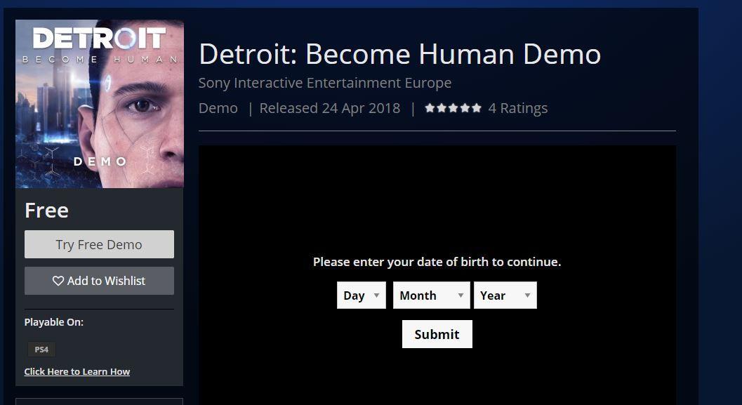 Detroit demosu yayınlandı ama herkes indiremiyor (Güncellendi)