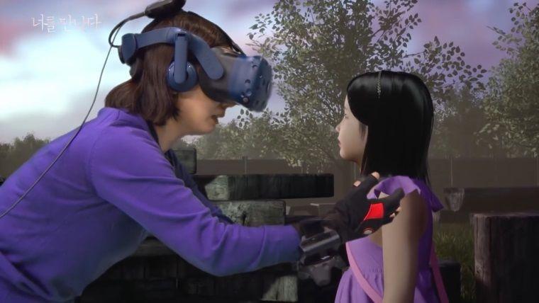 Ölen kızına sanal gerçeklik dünyasında kavuştu