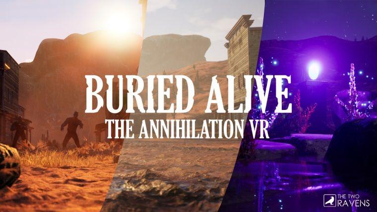 Türkiye'nin ilk VR shooter oyunu Buried Alive: The Annihilation VR duyuruldu
