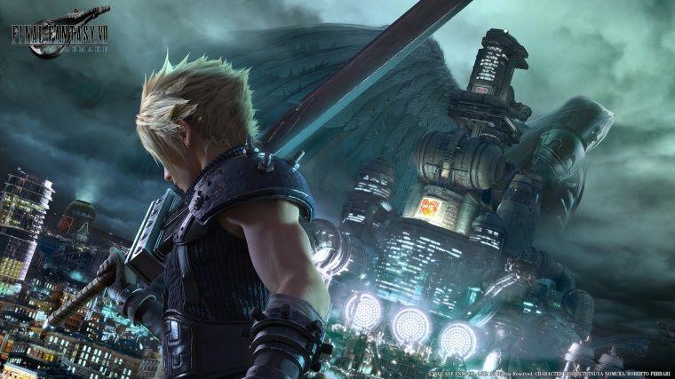 Final Fantasy VII Remake'e ait yeni bir görsel ortaya çıktı