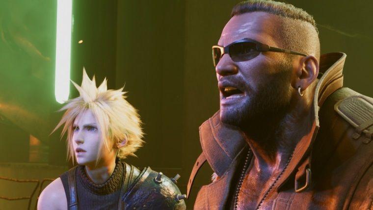 Final Fantasy VII Remake'in beklenen oynanış videosu geldi