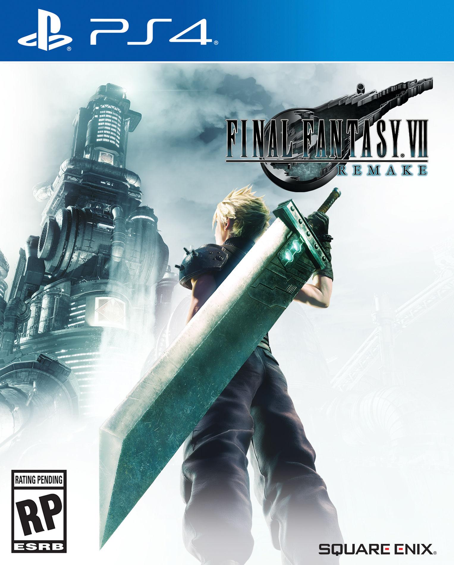 Final Fantasy VII Remake'in kapak tasarımı yayınlandı