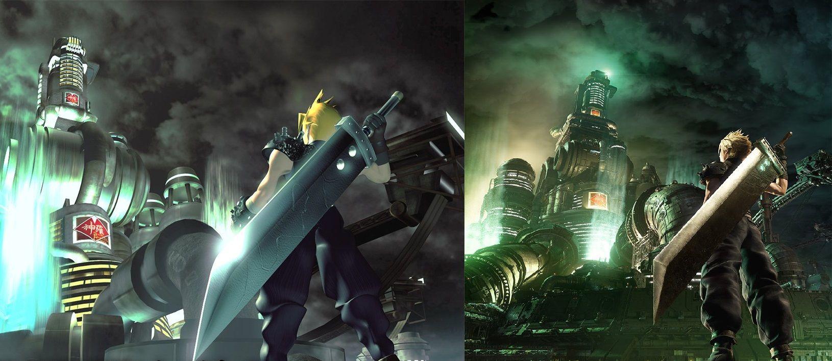 İkonik poster Final Fantasy VII Remake için yeniden yapıldı