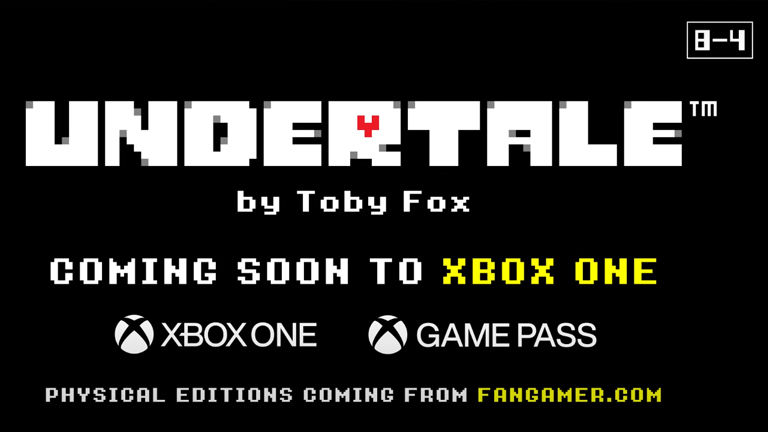Xbox Game Pass passenger with Undertale exclusive content