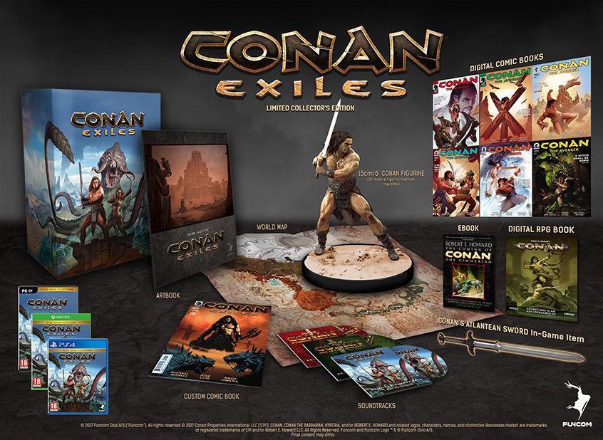 Conan Exiles'ın çıkış tarihi açıklandı