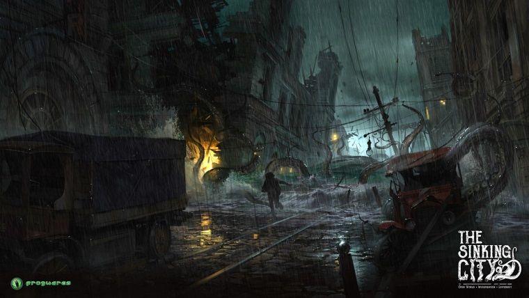 Cthulhu temalı Sinking City'nin oynanış videosu dikkat çekiyor