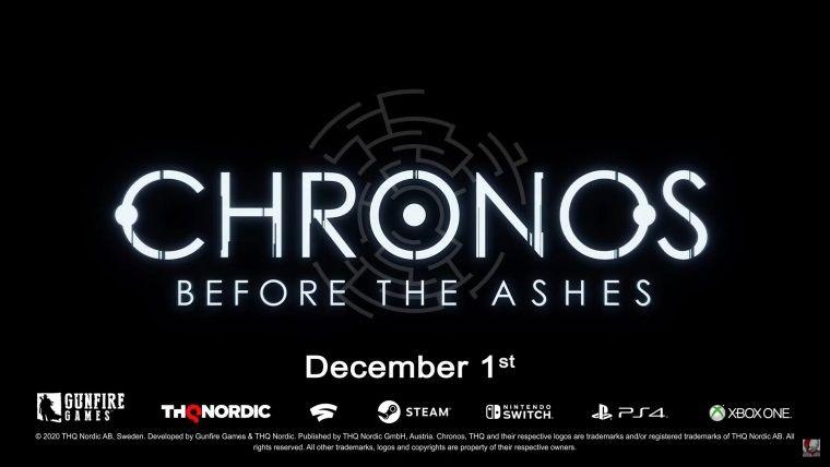 Chronos: Before the Ashes için tanıtım videosu paylaşıldı