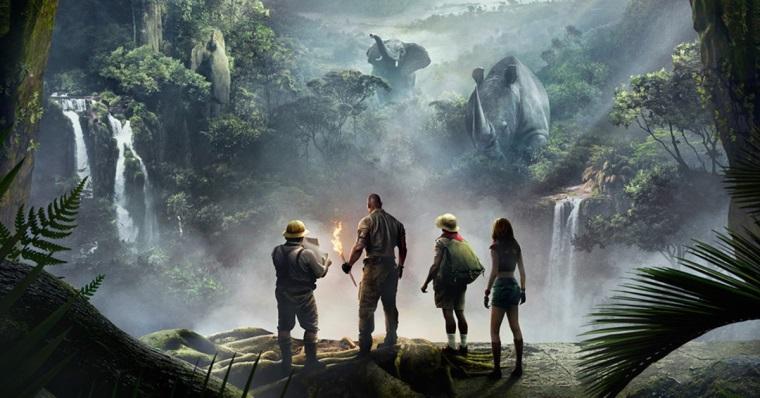Jumanji filmi için yeni bir teaser yayınlandı