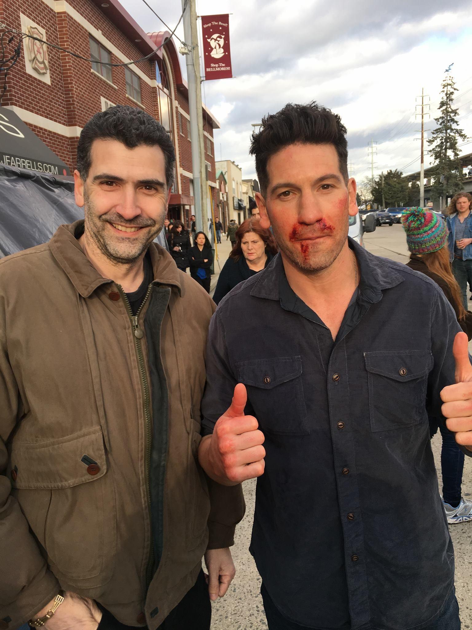 Punisher'ın 2.sezonu için kamera arkası görüntüleri geldi