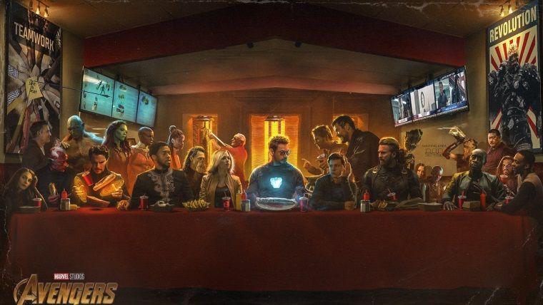 Infinity War'ın Son Yemek temalı çalışması görülmeye değer