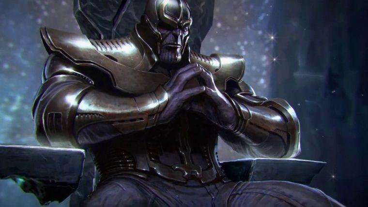 Galaksilerin efendisi Thanos, sessiz olmanızı emrediyor