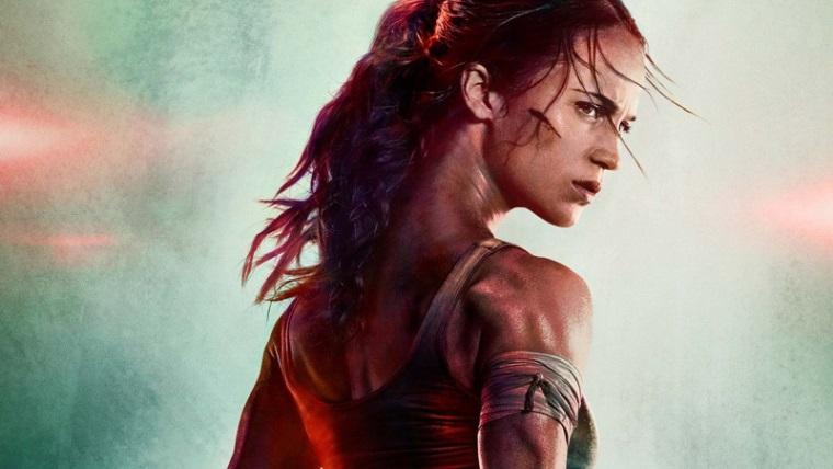 Tomb Raider filmi için garip bir poster yayınlandı