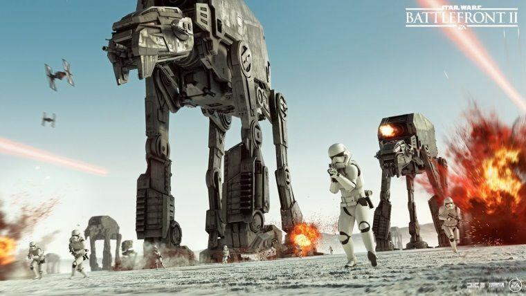 SW: Battlefront 2'nin The Last Jedi güncellemesi geldi
