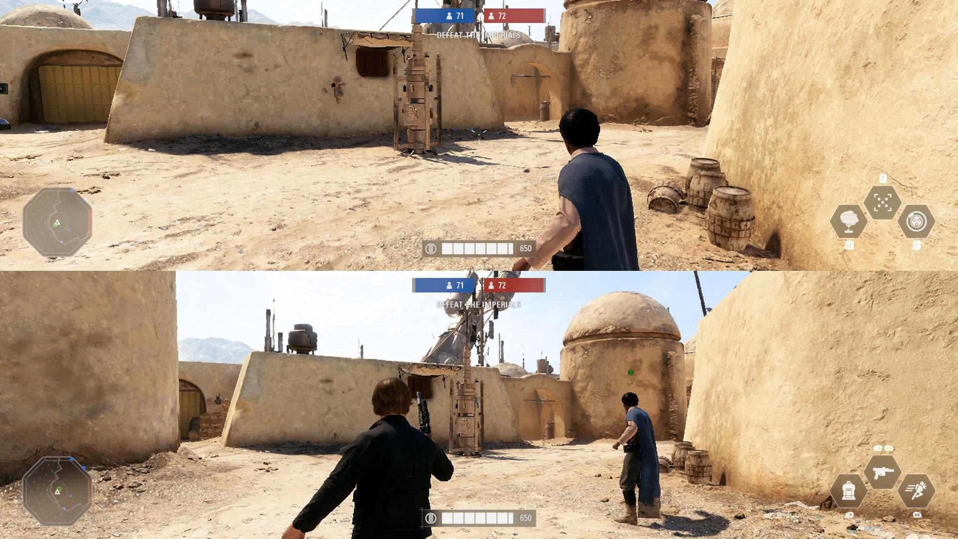 Bu modla Battlefront 2'yi bölünmüş ekranda oynayabileceksiniz