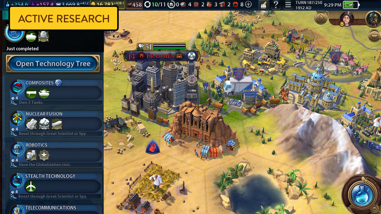 Civilization VI, Android için yayınlandı