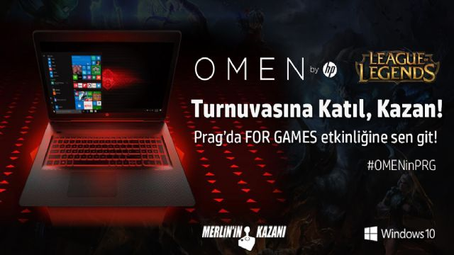 Omen by HP League of Legends Turnuvası başlıyor!