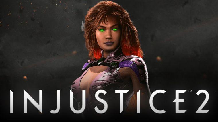 Starfire Injustice 2 kadrosuna katıldı
