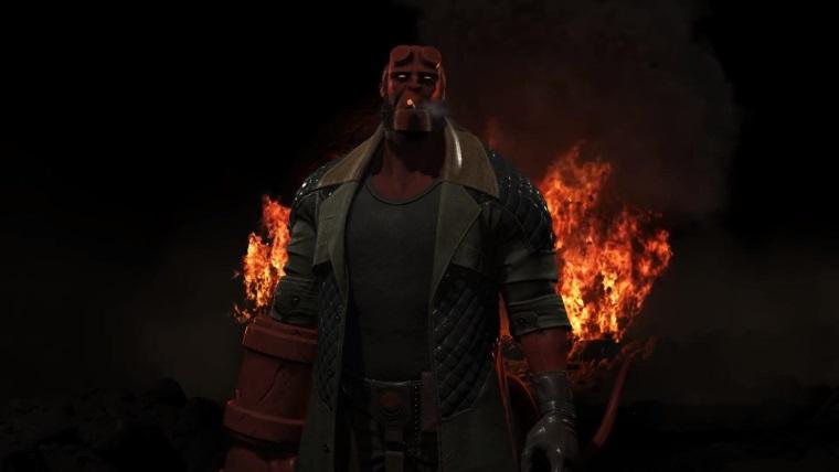 Injustice 2 kadrosuna katılan Hellboy için yeni video