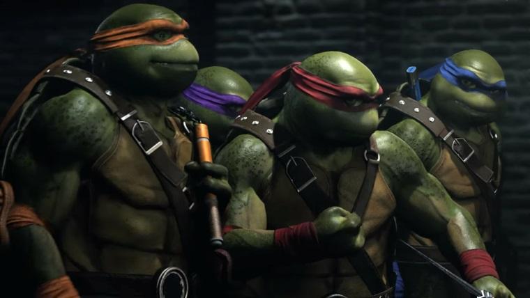 Ninja Kaplumbağalar Injustice 2'ye geliyor!