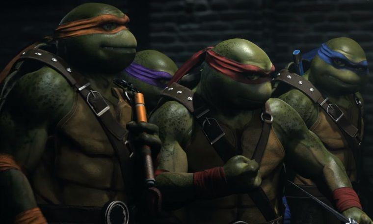 Ninja Kaplumbağalar sonunda Injustice 2 kadrosuna ekleniyor