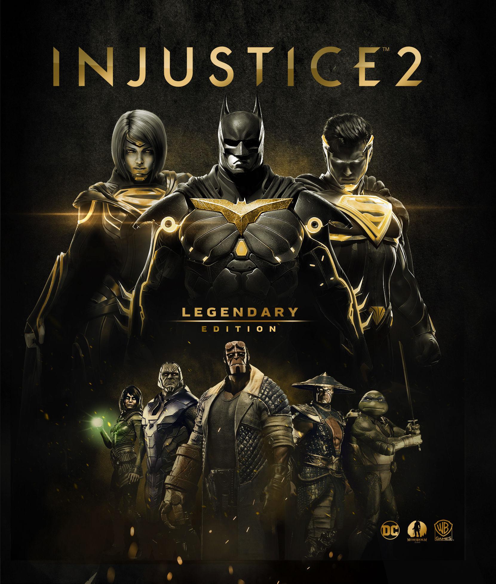 Injustice 2'nin Legendary Edition'ı için geri sayım başladı