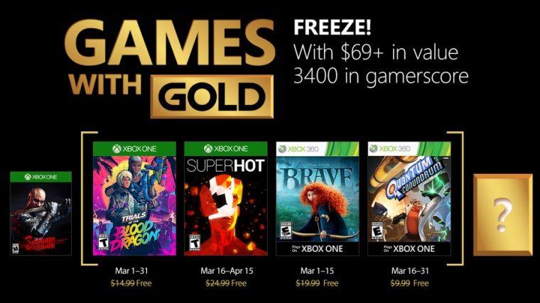 Mart ayı için bedava Xbox oyunlarının listesi belli oldu