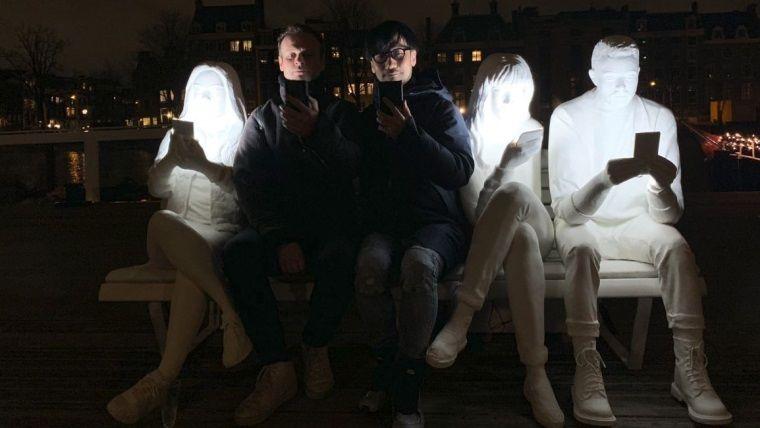 Kojima, Guerilla Games'i ziyaret etti: Death Stranding oynadı