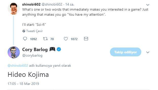 God of War'ın yönetmeni Cory Barlog'dan şaşırtan yanıt