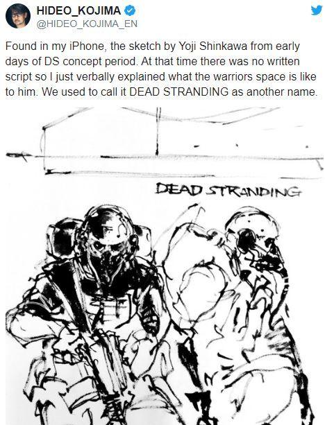 Death Stranding'in adı aslında ilk başta farklıymış