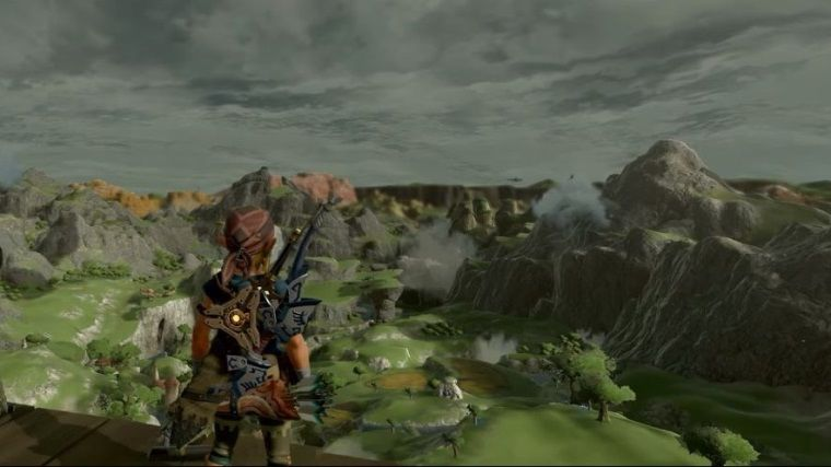 The Legend of Zelda: Breath of the Wild bu modla bambaşka görünüyor