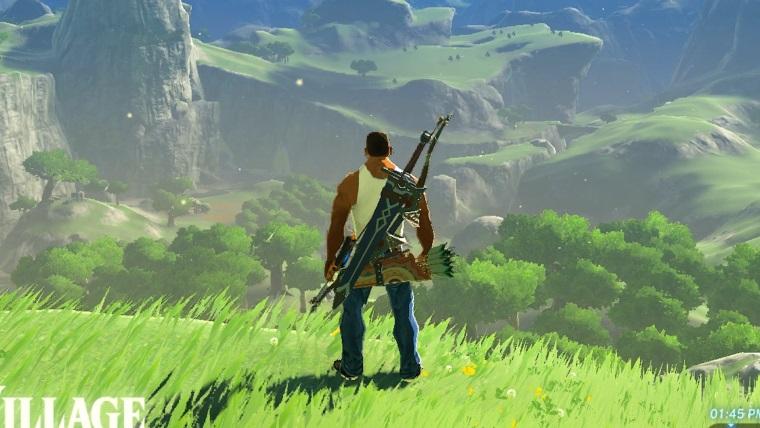 CJ'in Zelda dünyasında ne işi var?