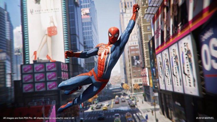 Spider Man'de oyunu bitirince hava ve zaman değiştiriliyor