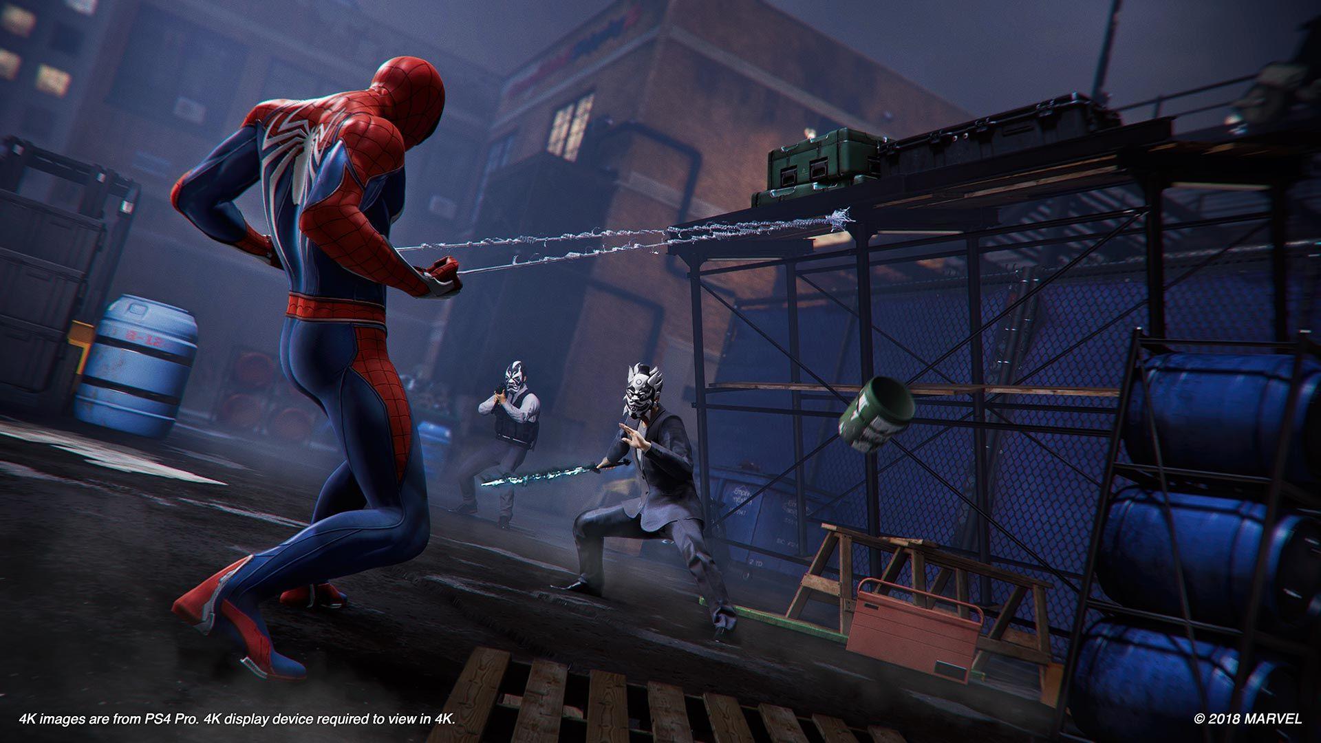Spider - Man için yayınlanan yeni ekran görüntüleri harika!