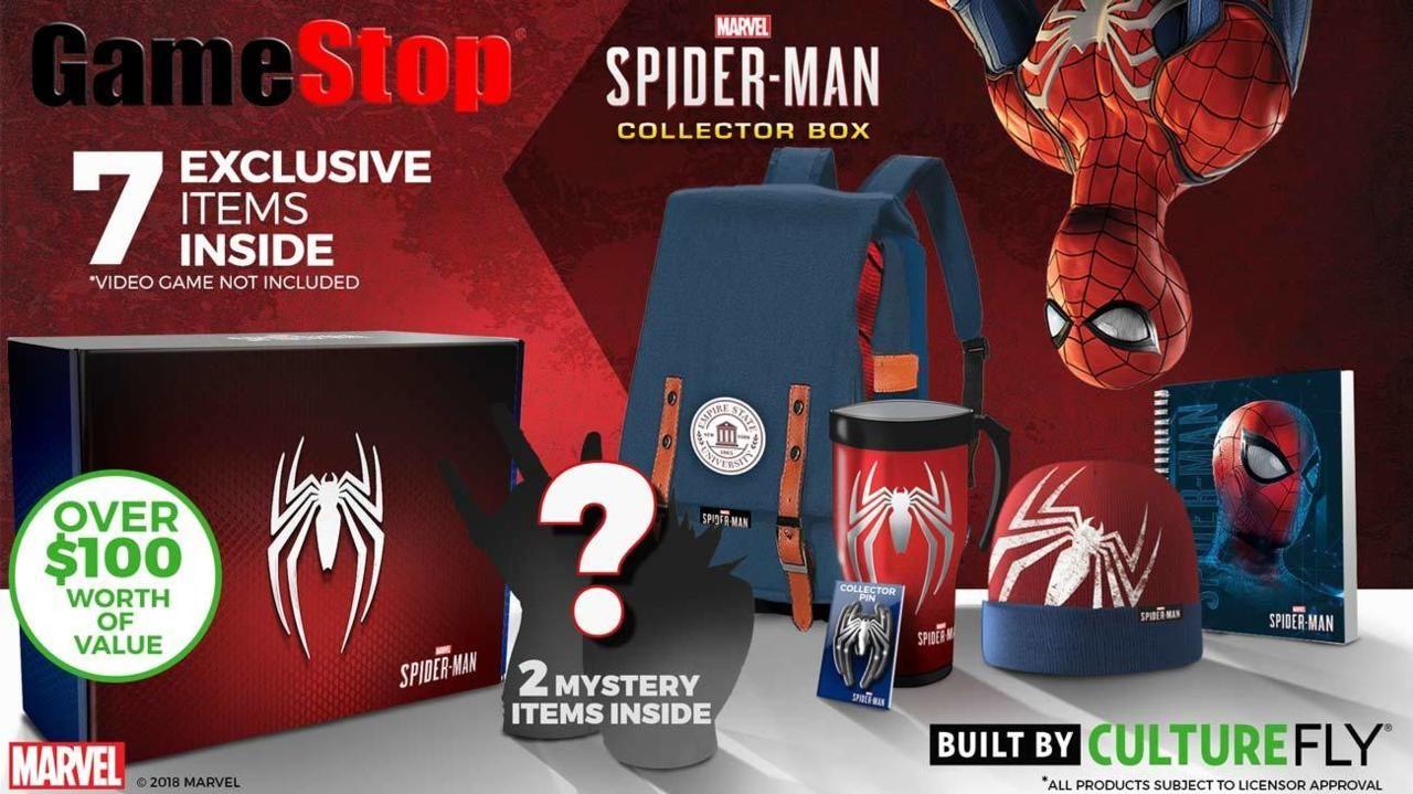 PS4 Spider-Man'in koleksiyoncu sürümünde sırt çantası var
