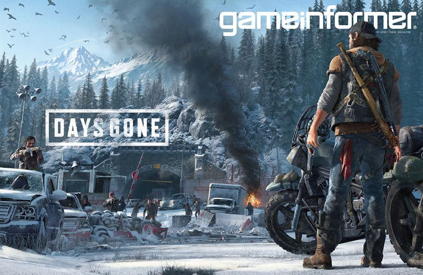 Game Informer kapağını süsleyen Days Gone'dan yeni video geldi
