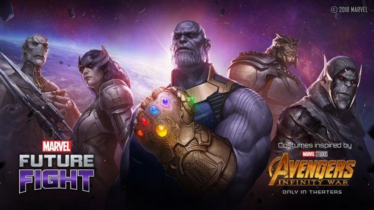 Infinity War karakterleri Marvel Future Fight'a eklendi