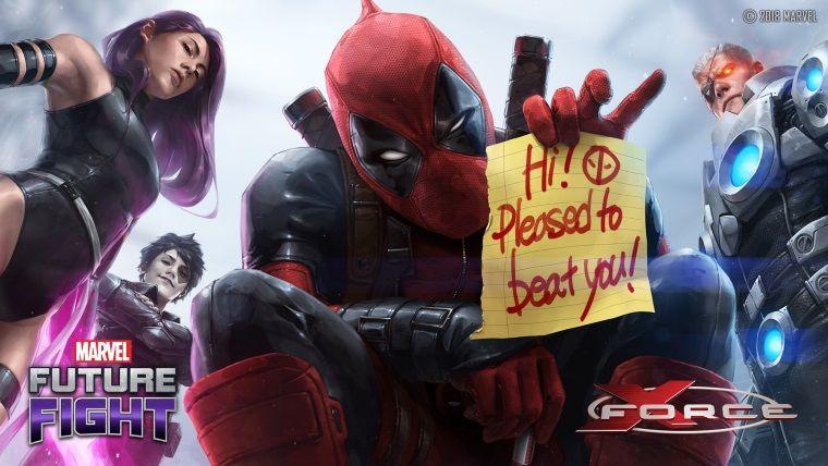 Deadpool, MARVEL Future Fight oyununa katılıyor